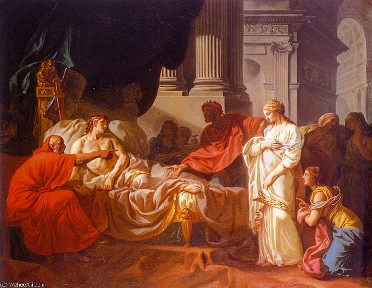 sem título (3326) por Jacques Louis David (1748-1800, France)