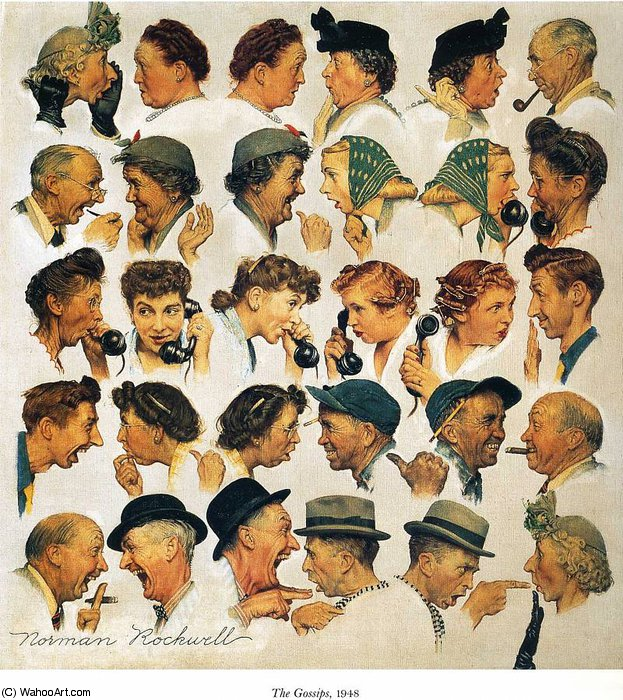 sem título 5443   por Norman Rockwell (1894-1978, United States) | WahooArt.com