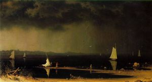 Martin Johnson Heade - Thunder Storm em Narragansett Bay