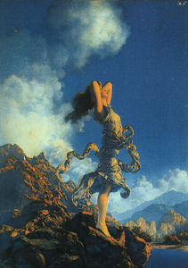 Maxfield Parrish - êxtase