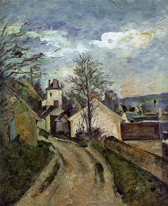 Paul Cezanne - a casa do dr. Gachet em auvers