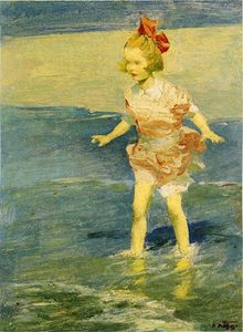 Edward Henry Potthast - No Surf