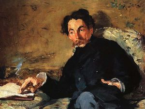 Claude Monet - Retrato de Stephane Mallarmé