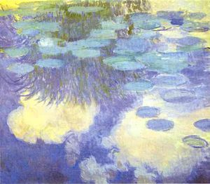 Claude Monet - Water-Lilies II