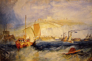 William Turner - Dover castelo