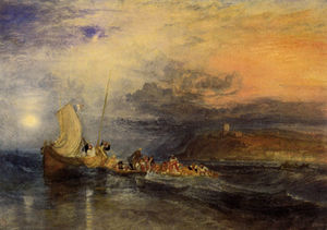 William Turner - Folkestone do Mar