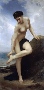 William Adolphe Bouguereau - Apres le bain