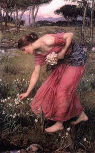 John William Waterhouse - Narciso JW