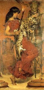 Lawrence Alma-Tadema - Autumn festival do vintage