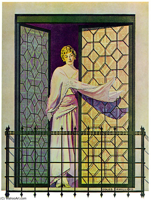 Untitled (818) por Coles Phillips (1880-1927, United States)