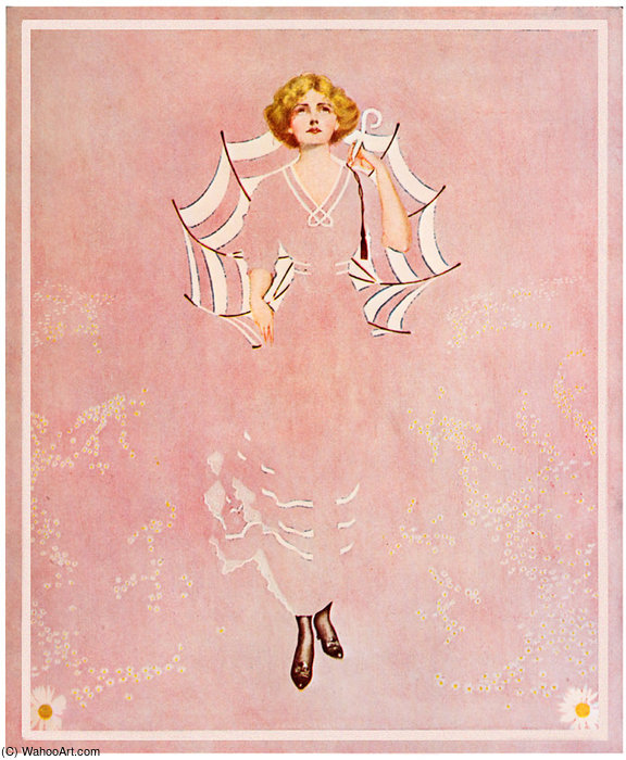 Untitled (554) por Coles Phillips (1880-1927, United States) | WahooArt.com