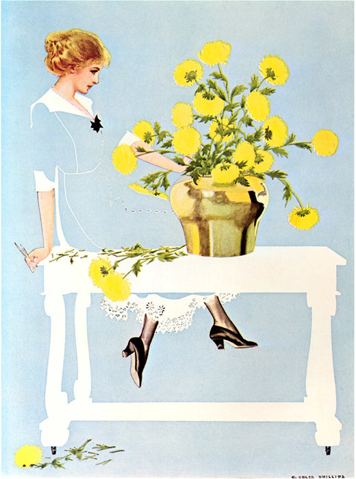 Untitled (517) por Coles Phillips (1880-1927, United States) | WahooArt.com