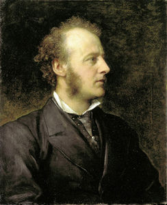 George Frederic Watts - Retrato de Sir John Everett Millais