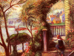 William James Glackens - leste ponto de gloucester
