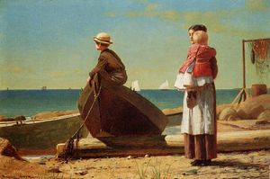 Winslow Homer - DAD-S_COMING!
