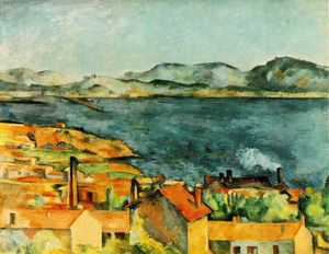 Paul Cezanne - A Baía de L Estaque