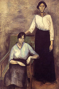 André Derain - As duas irmãs, Statens Museum for Kunst, Cope