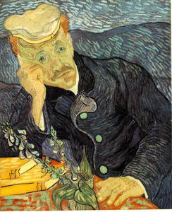 Vincent Van Gogh - retrato do dr . Gachet , Privada
