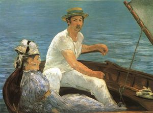 Edouard Manet - Boating, Metropolitan Museum of Art, Nova Iorque