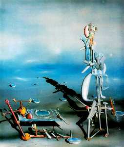 Yves Tanguy - indefinido divisibilidade