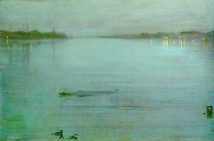 James Abbott Mcneill Whistler - Cremorne luzes