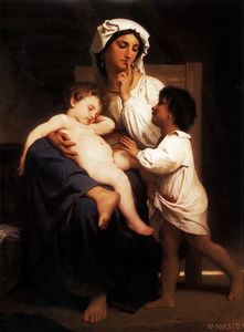 William Adolphe Bouguereau - Adormecido na último