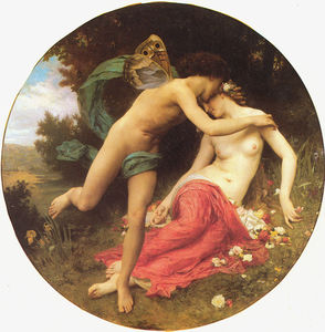 William Adolphe Bouguereau - Flora e Zéfiro