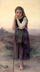 William Adolphe Bouguereau - Bergere Petite