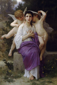 William Adolphe Bouguereau - o heart's despertar