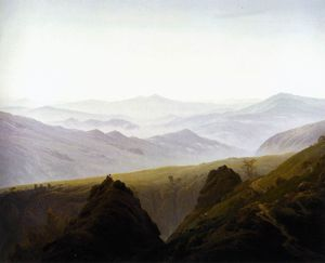 Caspar David Friedrich - no montanhas