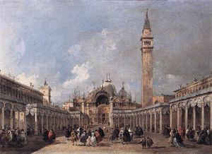 Francesco Lazzaro Guardi - o banquete de ascensão