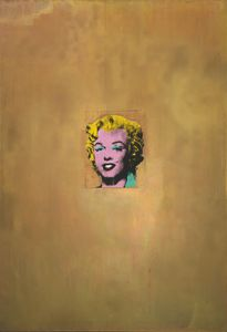 Andy Warhol - Ouro marilyn monroe