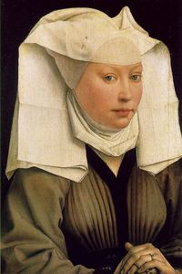 Rogier Van Der Weyden - Gaze headress