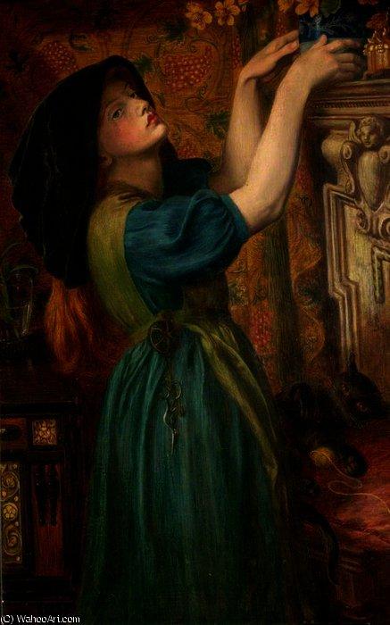 malmequeres o bower donzela fleur de marie por dante gabriel rossetti 1828 1882 united. Black Bedroom Furniture Sets. Home Design Ideas