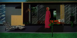 David Hockney - Beverly colinas housew