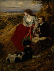 Ford Madox Brown - Byron-s sonho