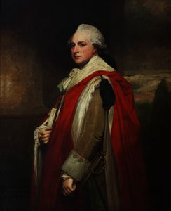 George Romney - Sir cust brownlow