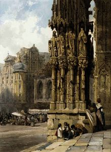 Thomas Shotter Boys - oeste alpendre  Ratisbona  Catedral