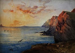 David Hall Mckewan - dorset coast em sol