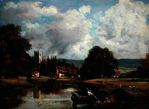 Frederick Waters (William) Watts - a thames em mortlake