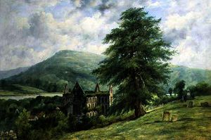 Frederick Waters (William) Watts - Tintern abadia