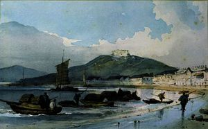 George Chinnery - Vista de Macau , China