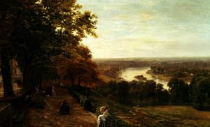 George Vicat Cole - Richmond monte
