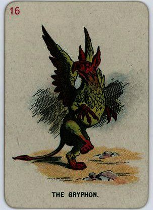 o gryphon por John Tenniel (1820-1914, United Kingdom)