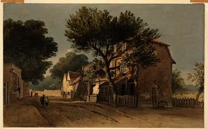 John Varley I (The Older) - Leyton, Essex, c.1800