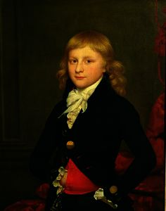 William Beechey - Retrato de lord frederick beauclerk , Presidente da