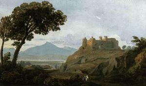 John Varley I (The Older) - Harlech castelo , gales do norte