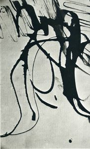 Hans Heinrich Hartung - Untitled (675)
