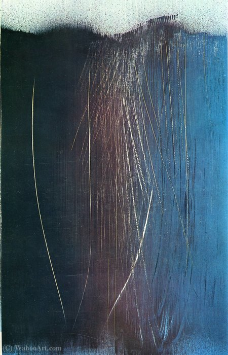 Untitled (152) por Hans Heinrich Hartung (1904-1989, Germany)