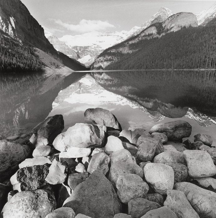 Lake Louise por Lee Friedlander